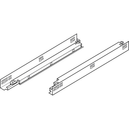"Blum 569A6860B 27"" TANDEM plus BLUMOTION 569A Undermount Drawer Slide, Heavy Duty, Full Extension, for 3/4 Drawer, 135lb"