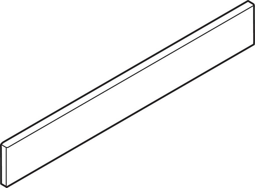 """BLUM Z37A617D 26"""" Metal Design Element, Gray"""