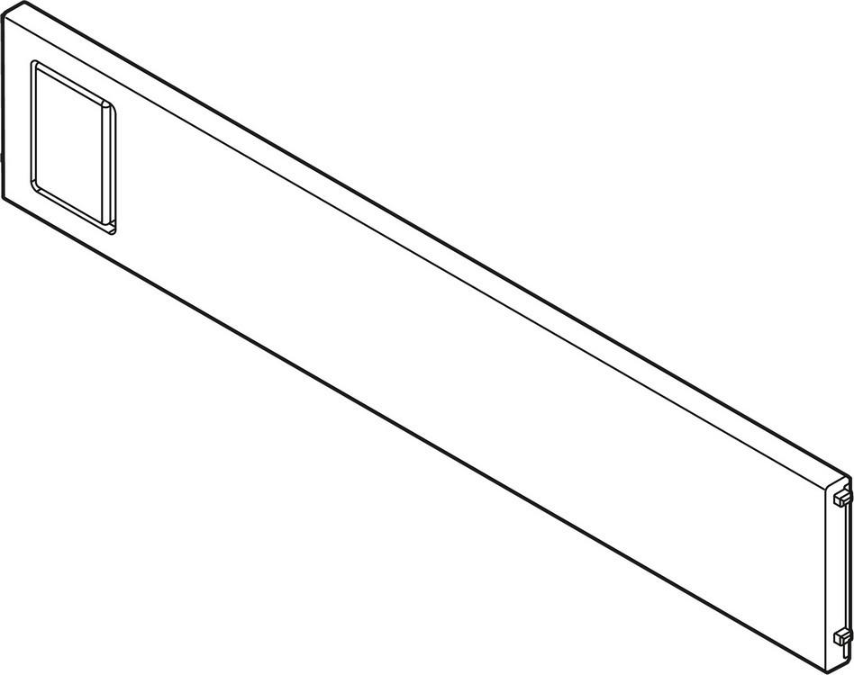 "Blum ZC7Q020SS LEGRABOX Drawer Systems AMBIA-LINE 8""W Cross Divider"