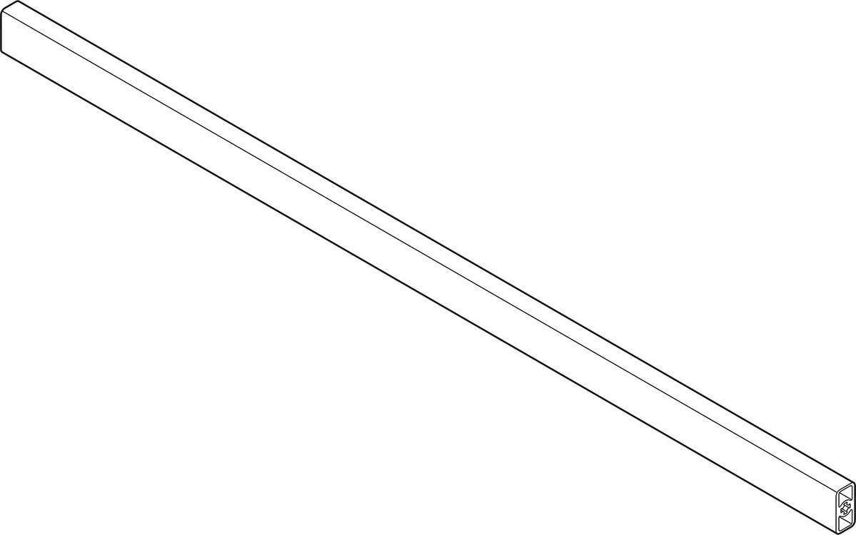 Blum TANDEMBOX Drawer System ZRG.1046Z 1046mm Intivo Cross Gallery Rail, Gray 1046mm Intivo Cross Gallery Rail, Gray