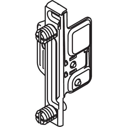 Blum ZSF.1300 METABOX Left Hand Clip Front Fixing Bracket, Dowel