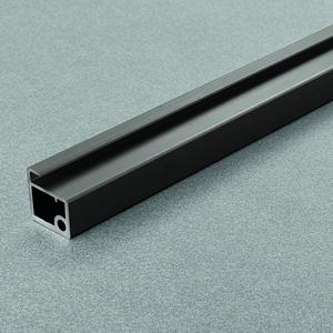 """Salice DEL6LP300T, 118"""" Aluminum Door Profile for Air Hinge, Titanium"""