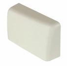 Grass F155145066133 Right Hand Plastic Cover Cap for the Grass Suspension Rail Bracket, Almond