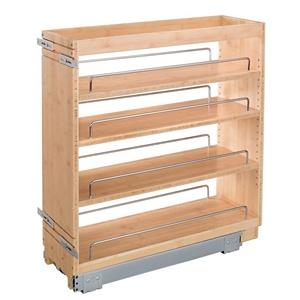 Rev-A-Shelf 448-BC-8C, 8in Base Cabinet Organizer with Standard Close
