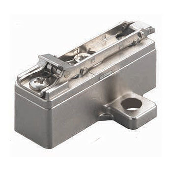 Salice BAR3RY9 24mm Hinge Mounting Plate, Screw-On