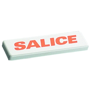 Salice S2XX83A1 Hinge Arm Cover Cap, No Logo, White