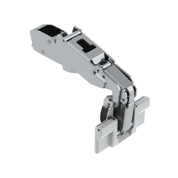 Blum 71T6640B 170 Degree CLIP Top Hinge, Self-Close, Half Overlay, Inserta