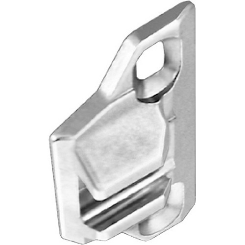 Blum 133.0240 110 Degree Compact 33 Side Mount Face Frame Plate, 1-3/8 Overlay