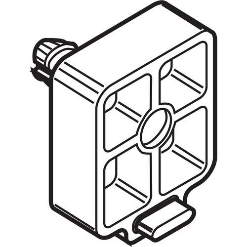 Blum 320M0188 8mm Cabinet Profile Spacer for Blum Standard 230M & 430E Epoxy Drawer Slide
