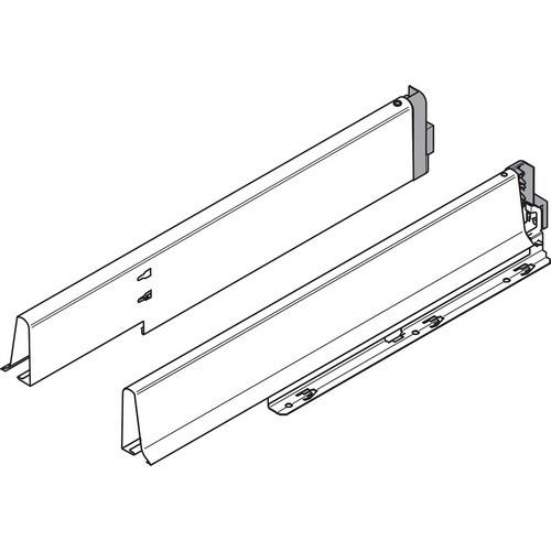 Blum 358m5004sg 20 Quot Tandembox 358m Sink Drawer Side White