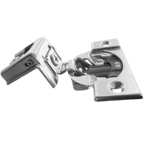 Blum 39C355B-1/4 Compact BLUMOTION 39C Hinge, Soft-Close, 110 Degree, 1-9/16 Overlay, Screw-on