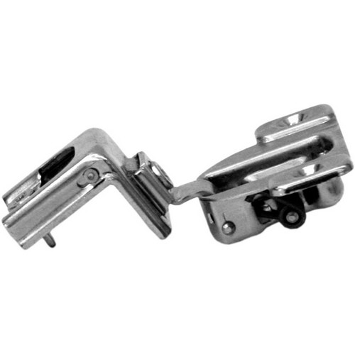 Blum 39C358C-1/4 Compact 39C Face Frame Hinge, Self-Close, 110 Degree, 1-9/16 Overlay, Dowel