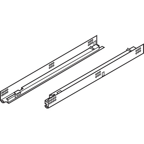"Blum 552H4570N 18"" TANDEM 552H Undermount Partial Extension Drawer Slide for 5/8 Drawer"