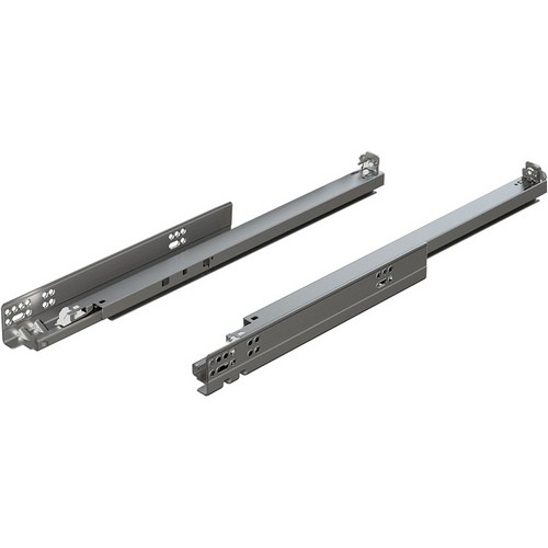 "Blum 563.4570B 18"" TANDEM plus BLUMOTION 563 Undermount Drawer Slide, Full Extension, Soft-Close, for 5/8 Drawer, 90lb"