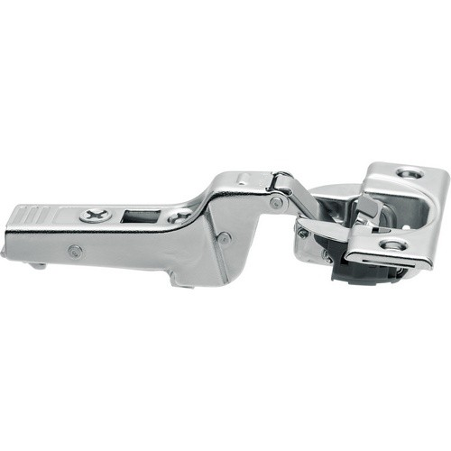 Blum 71B9650 95 Degree CLIP Top BLUMOTION Hinge, Soft-Close, Half Overlay, Screw-on