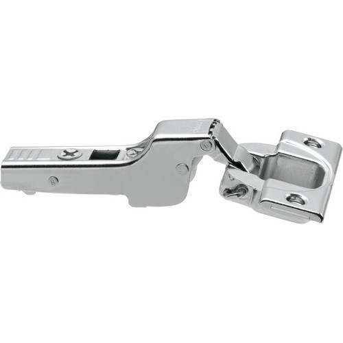Blum 71T3650 110 Degree CLIP Top Hinge, Self-Close, Half Overlay, Screw-on