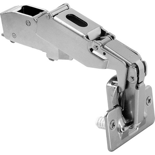 Blum 71T6680 170 Degree CLIP Top Hinge, Self-Close, Half Overlay, Dowel