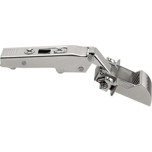 Blum 73T550AB 120 Degree CLIP Top Aluminum Door Self-Close Hinge for BLUMOTION, Full Overlay, Screw-on
