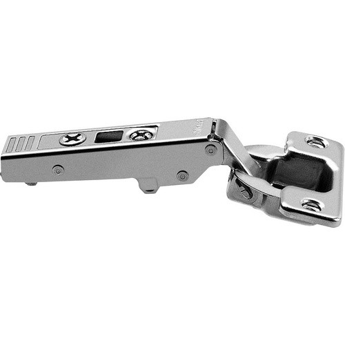 Blum 75T1550 107 Degree CLIP Top Hinge, Self-Close, Full Overlay, Screw-on
