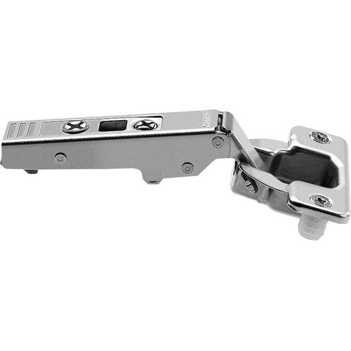 Blum 75T1580 107 Degree CLIP Top Hinge, Self-Close, Full Overlay, Dowel