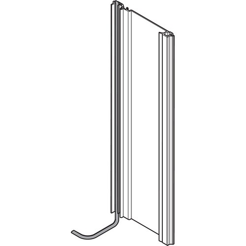 Blum Z10T720AB 28-3/8 SERVO-DRIVE Vertical Aluminum Profile with Cable