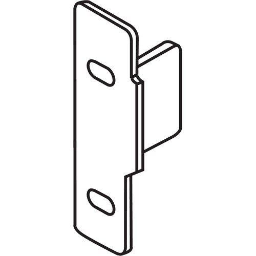 Blum ZSF.1510.05 METABOX Left Hand Narrow Front Fixing Bracket, Screw-on