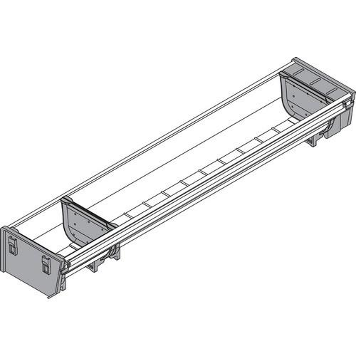 Blum ZSI.500BI1N 20in Single Tiered Cutlery Organizer, Inox