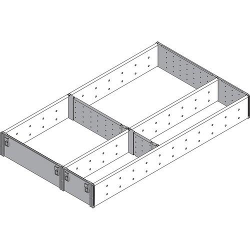 Blum ZSI.500FI3 20in 3-Tiered Utensil Organizer, Inox