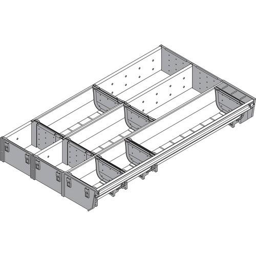 Blum ZSI.500MI3 20in 3-Tiered Cutlery/Utensil Organizer, Inox