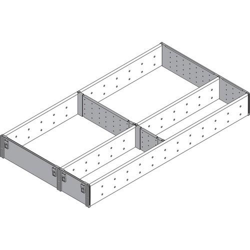 Blum ZSI.550FI3 22in 3-Tiered Utensil Organizer, Inox