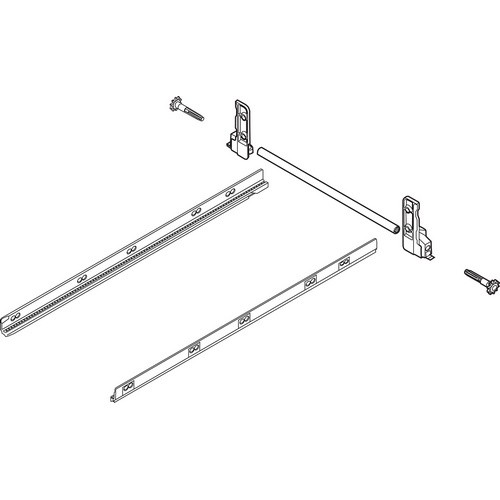 Blum ZST.550MH METABOX 330 Lateral Stabilizer Kit