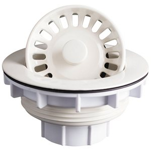 Karran BSB Basket Strainers For Karran Acrylic Sinks, Bisque