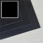 909 Surfaces Laminate 109 Black, Postforming, .039 Thick, HD Gloss, 4x8