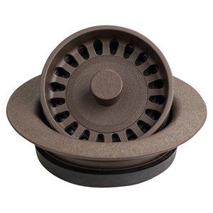 Disposal Flange for Quartz Sink Brown Karran QDFBR