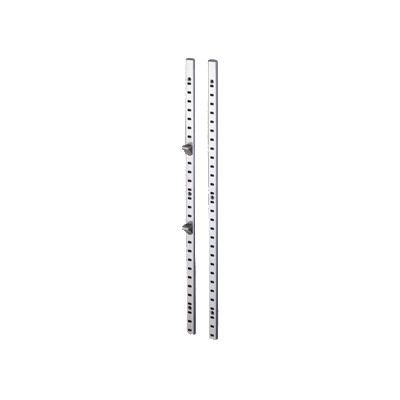Sugatsune SP-1820, 6ft Single Slotted Pilaster, Recess or Surface Mount, Stainless Steel