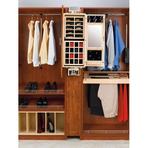 Rev-A-Shelf CAG-081642-1 - Gentleman's Closet Armoire