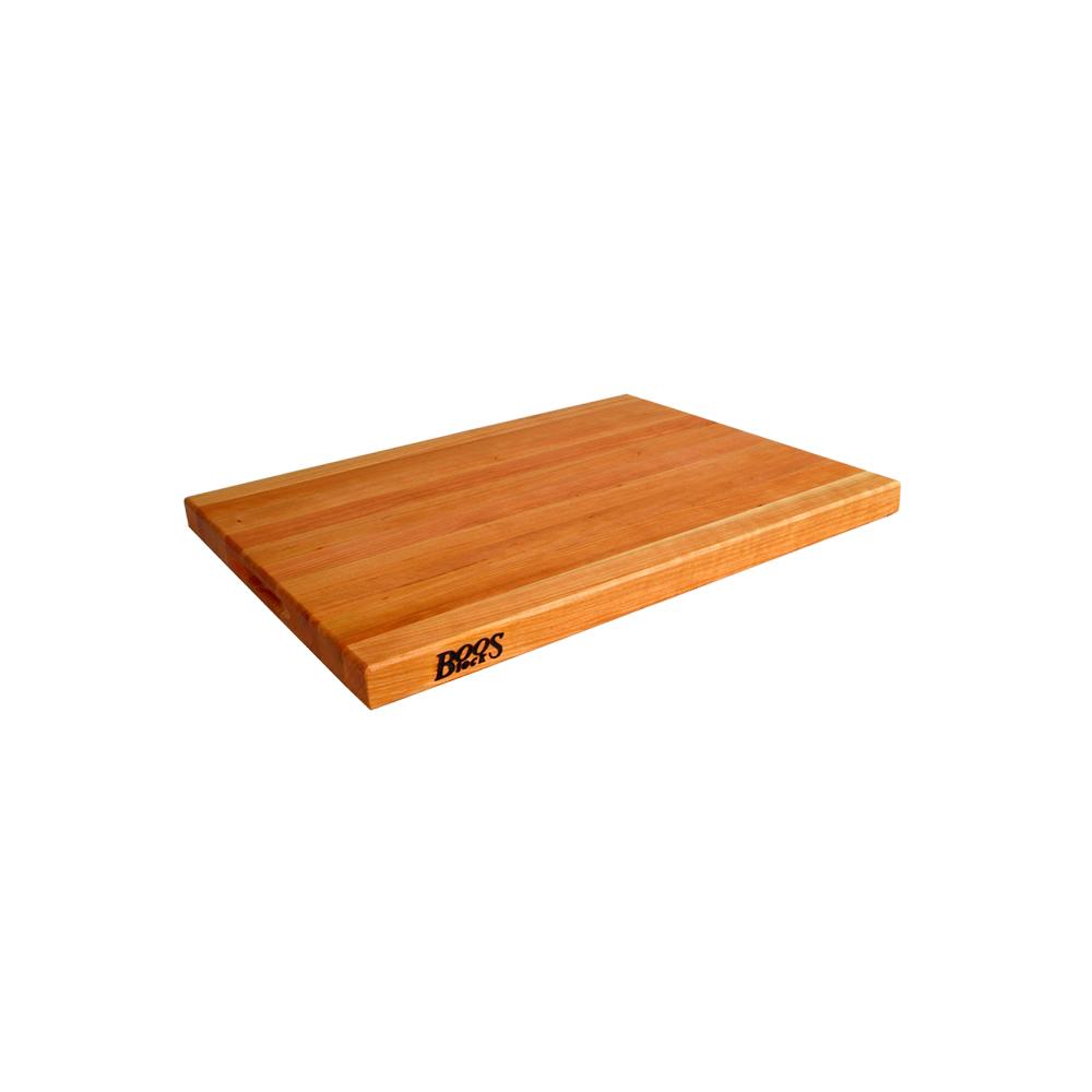 John Boos CHY-R03 20 L Cutting Board, R-Board Collection, Cherry, 20 L x 15 W x 1-1/2 Thick