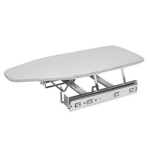 Closet Pullout Ironing Board Silver Rev-A-Shelf CIB-16CR