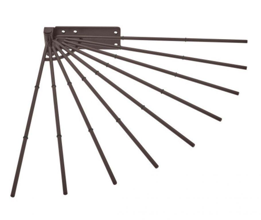 Wire Fan Pants Rack Oil-Rubbed Bronze Rev-A-Shelf CPRF-16ORB-52