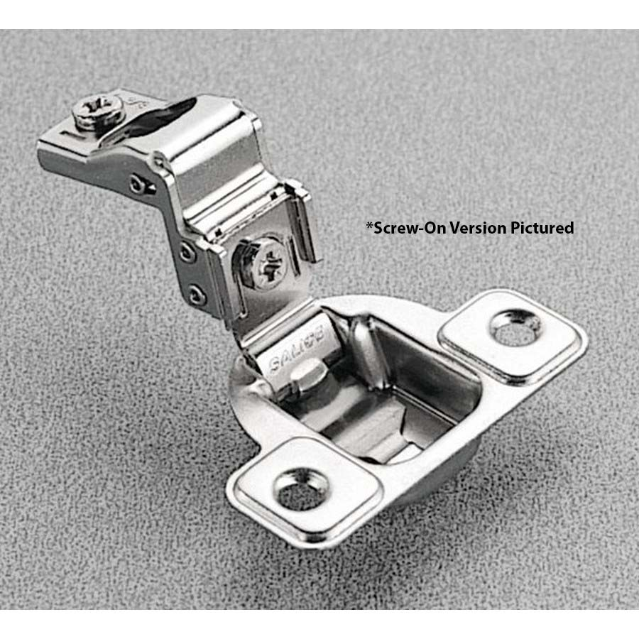 Salice CSP3299N, 106°  Face Frame Hinge, 1 Overlay, Screw-on