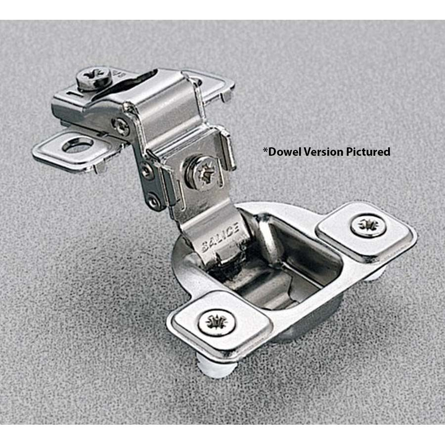 """106° Screw-On Face Frame Hinge 1"""" Overlay with 3 Cam Adjustment Salice CSP3299NR"""