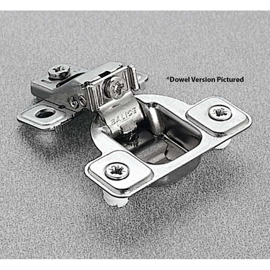 Salice CSP3499XR, 106°  Face Frame Hinge, 3/4 Overlay, 3 Cam Adjustment, Screw-on