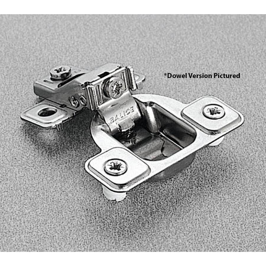 Salice CSP3599XR 106°  Face Frame Hinge, 5/8 Overlay, 3 Cam Adjustment, Screw-on