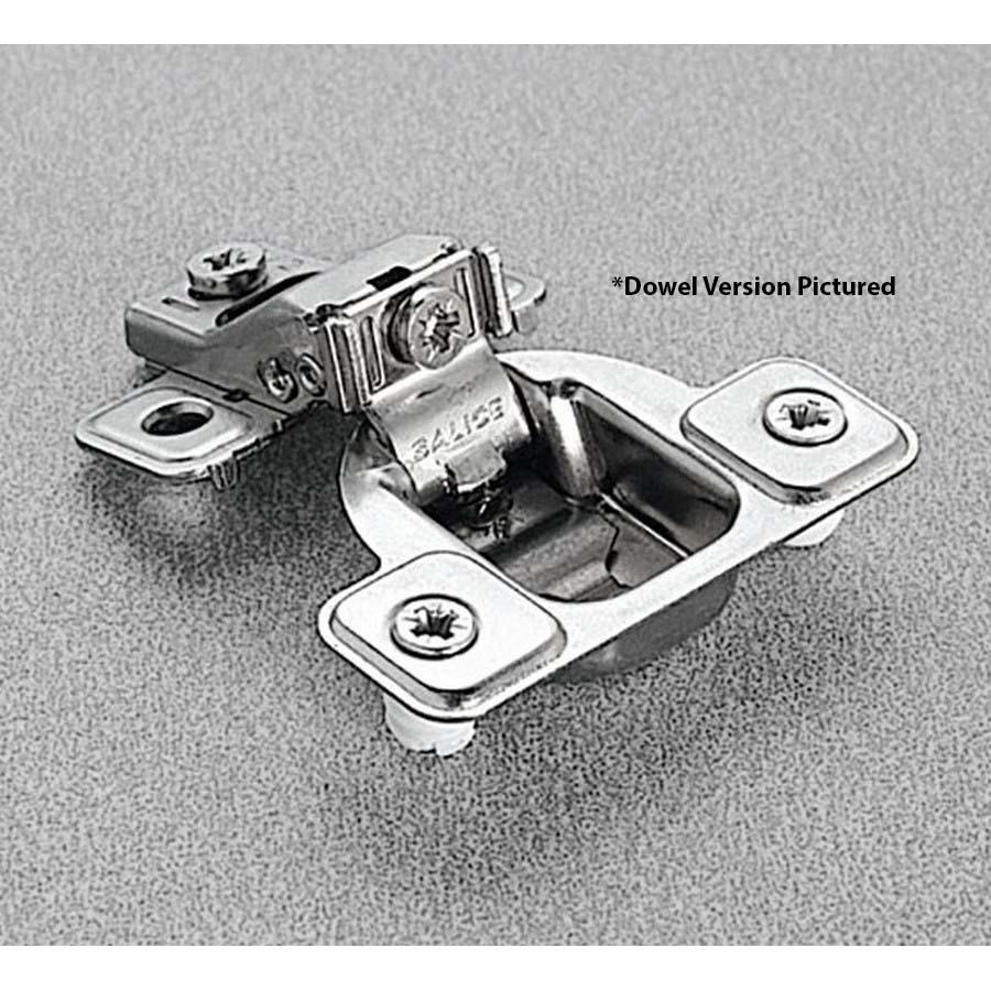 Salice CSP3799XR 106°  Face Frame Hinge, 1/2 Overlay, 3 Cam Adjustment, Screw-on