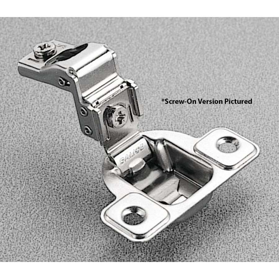 Salice CSP3A99N, 106°  Face Frame Hinge, 1-1/4 Overlay, Screw-on