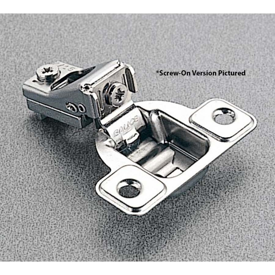 Salice CSP3Y99, 106°  Face Frame Hinge, 1/4 Overlay, Screw-on