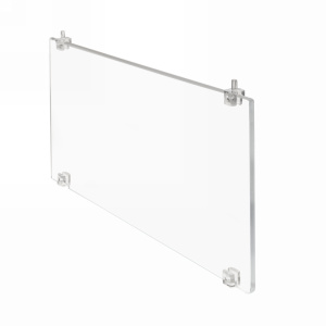 Rev-A-Shelf CSPD-6, 6in Clear Acrylic Shoe Dividers