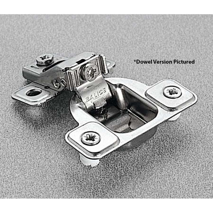 Salice CSR3499XR, 106°  Face Frame Hinge, 3/4 Overlay, 3 Cam Adjustment, Dowel