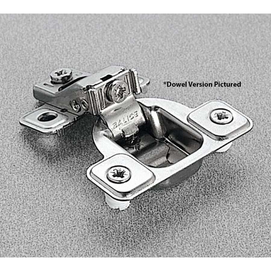 Salice CSR3599XR, 106°  Face Frame Hinge, 5/8 Overlay, 3 Cam Adjustment, Dowel