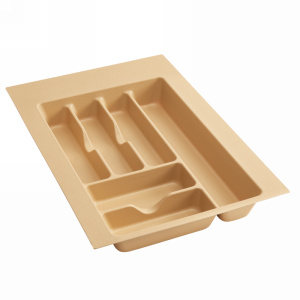 "Plastic Cutlery Drawer Insert 14-1/4""W Almond Rev-A-Shelf  CT-2A-20"